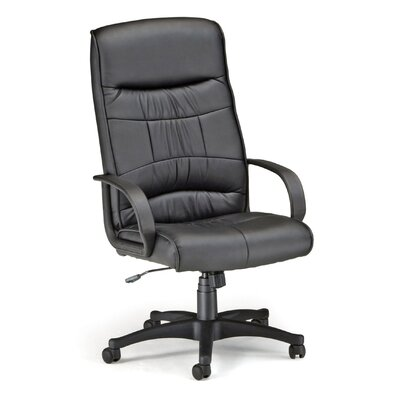 OFM High-Back Leatherette Executive Chair with Arms