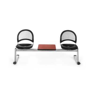 OFM Stars and Moon Two Chair Beam Seating with Lumbar Support