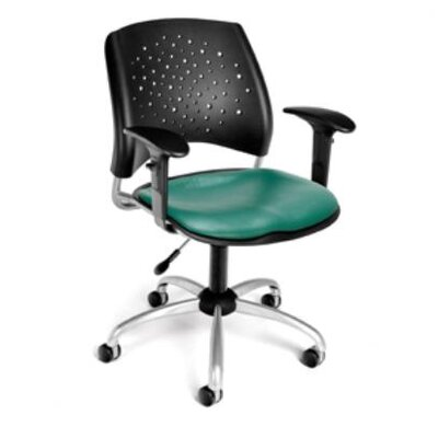 OFM Stars and Moon Low-Back Confrence Chair with Arms