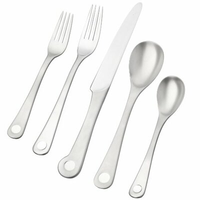 Ginkgo Pendulum 5 Piece Flatware Set