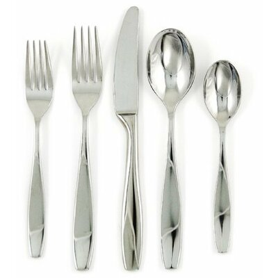 Ginkgo Skandia 43 Piece Flatware Set
