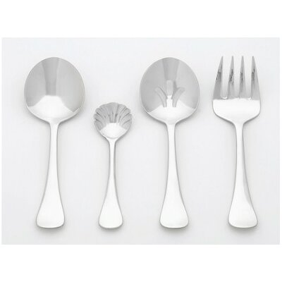 Ginkgo Stainless Steel Varberg 4 Piece Hostess Set