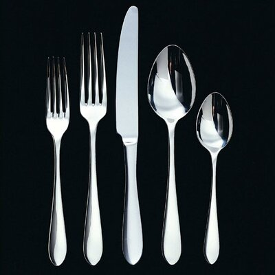 Ginkgo Linden 20 Piece Flatware Set