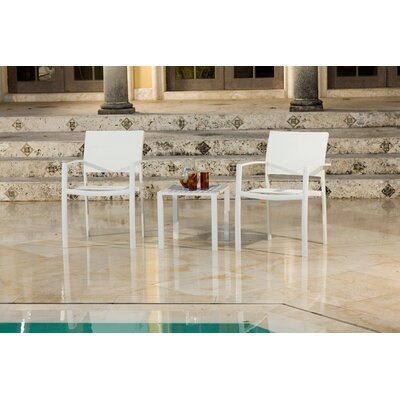 Source Outdoor Fusion Arm Chair (Set of 2)