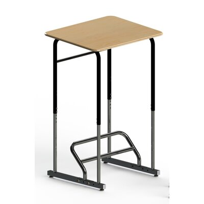 Stand2Learn Stand-Biased Height Adjustable Classroom Desk (5th Grade - Higher Ed.)
