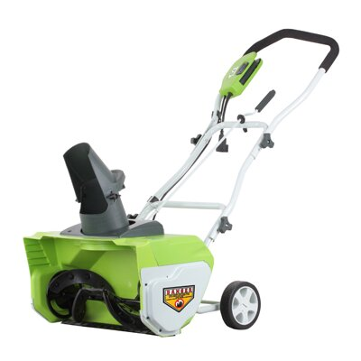 "GreenWorks Tools 20"" Electric Snow Thrower"