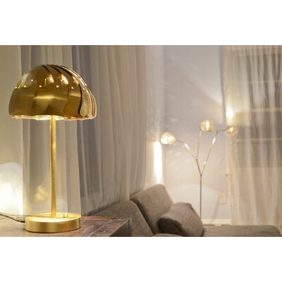 "Lightexture Involution 15"" H Table Lamp"