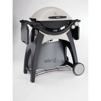 Weber Q Stationary Cart