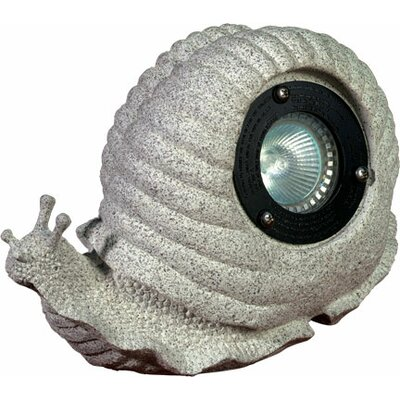 1 Light Snail Garden Accent Light
