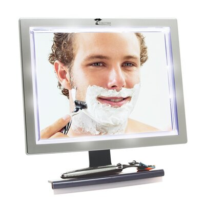 Fogless Shower Mirror with LED Lights