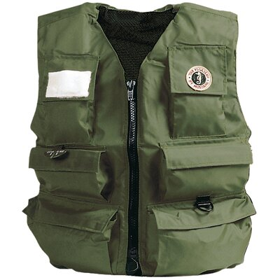 Mustang Survival Manual Inflatable Fisherman's Vest