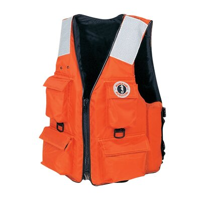 4-Pocket Flotation Vest with Solas Reflective Tape