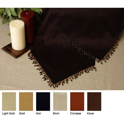 Luscious Silk Reversible Table Runner