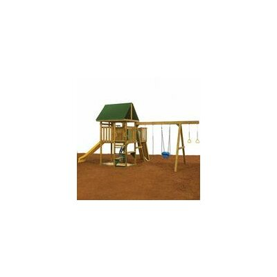 "Playstar Inc. 120"" x 126"" Legend Swing Set"