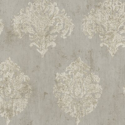 York Wallcoverings Natural Radiance Chateaux Damask Wallpaper