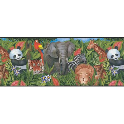 York Kids IV Jungle Border