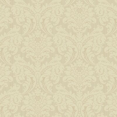 Proper English Strie Flat Damask Wallpaper