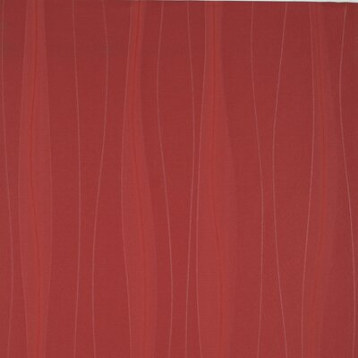 York Wallcoverings Barbara Becker Raised Surface Grosgrain Ribbon Texture And Wavy Line Stripe Wallpaper