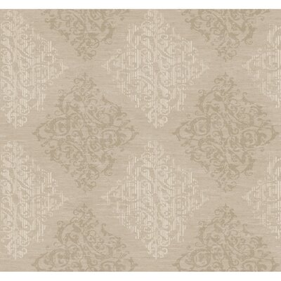 York Wallcoverings Jewel Box Marquise Wallpaper