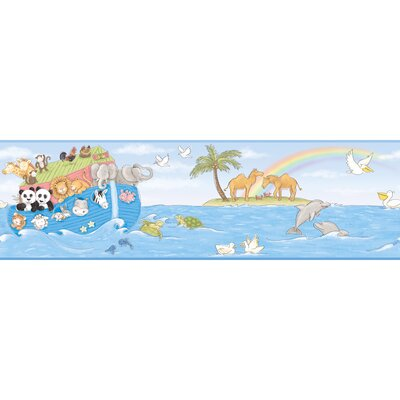 York Wallcoverings Peek-A-Boo Noah's Ark Wallpaper Border