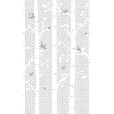 York Wallcoverings Peek-A-Boo Garden Butterflies / Birds Wall Mural