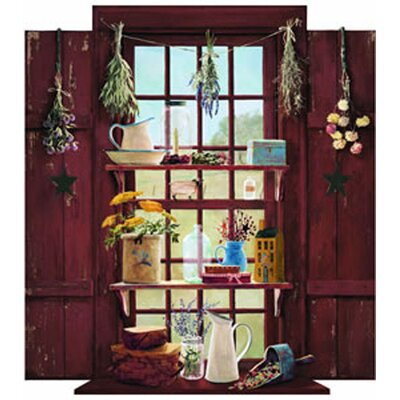 Portfolio II Country Things Trample L'Oiel Window Accent Wall Mural