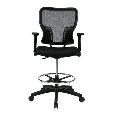 "Office Star Products Space 21.25"" Chair with 4-Way Adjustable Flip Arms"