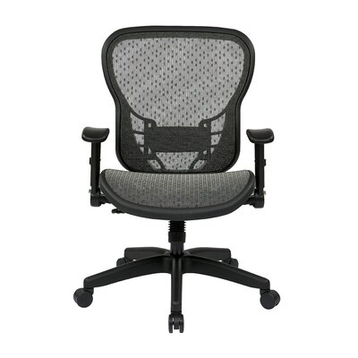 "Office Star Products Space 28"" Chair with Flip Arms"