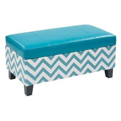 Office Star Products Ave Six Hudson Storage Ottoman
