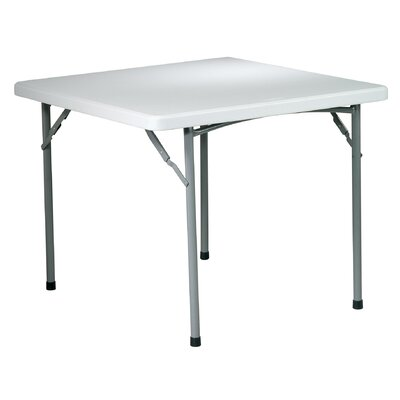 "Office Star Products 36"" Square Folding Table"