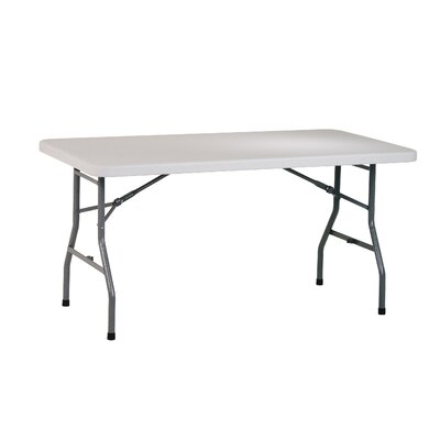 "Office Star Products Work Smart 60"" Rectangular Folding Table"