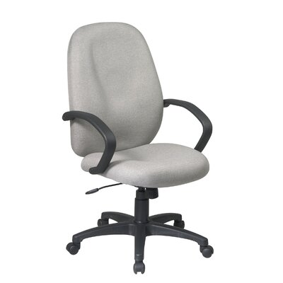 Office Star Products Mid-Back Executive Managerial Chair with Arms