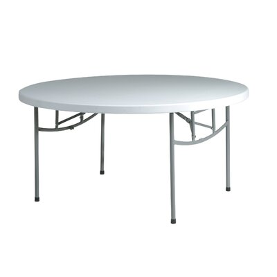 "Office Star Products Work Smart 60"" Round Folding Table"