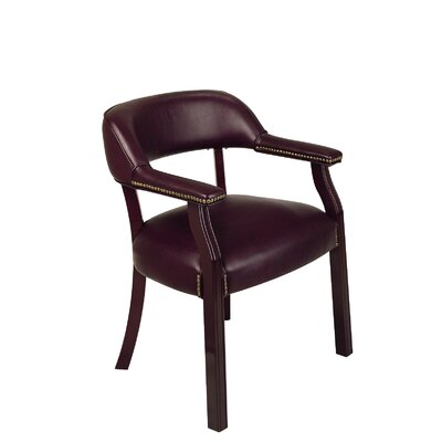 Office Star Products Traditional Guest Chair with Wrap Around Back