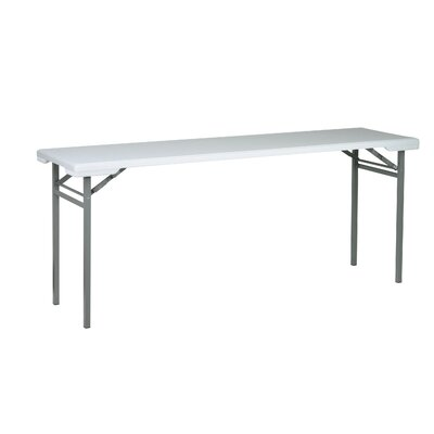 "Office Star Products Work Smart 70.5"" Rectangular Folding Table"