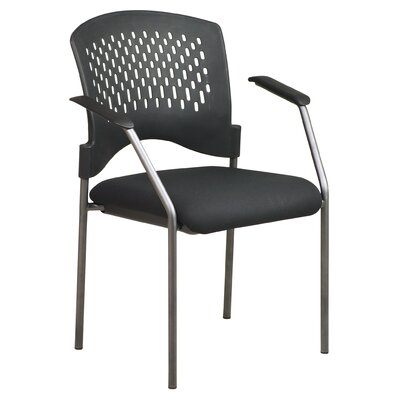 Office Star Products Titanium Finish Visitor's Chair
