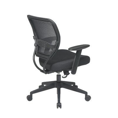 Office Star Products SPACE Professional Air Grid Matrex Mid-Back Managerial Chair with Arms