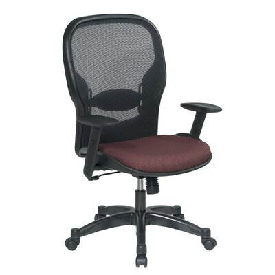 Office Star Products Air Grid Back and Fabric Seat Managerial Chair