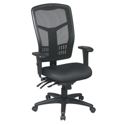 Office Star Products ProLine Ii ProGrid I High-Back Control Managerial Chair