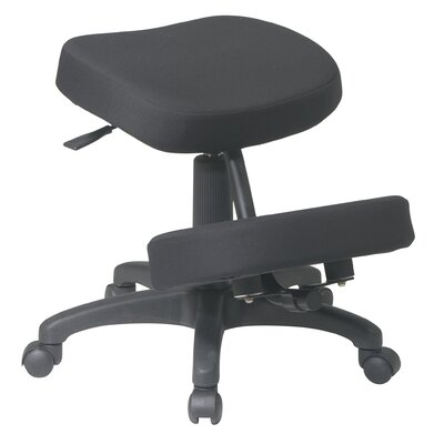 Office Star Low-Back Ergonomically Designed Knee Office Chair