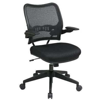 Office Star Air Grid Back and Mesh Seat Space Seating Deluxe Office Chair