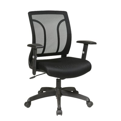 Office Star Products Work Smart Screen Back Task Chair