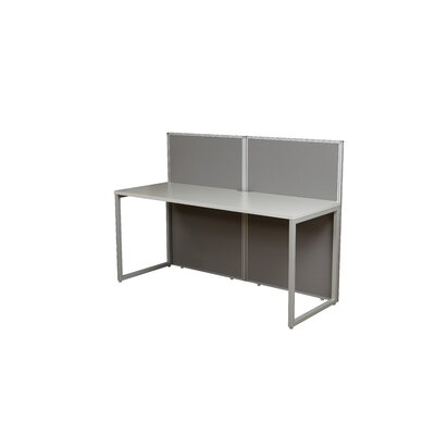 Office Star Products Box Office Two Panels Desk
