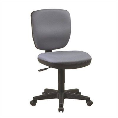 Office Star Products Mid-Back Contemporary Task Chair without Arms