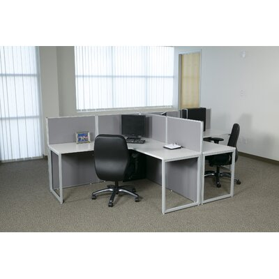 Office Star Products Box Office Typical One Configuration Computer Workstation