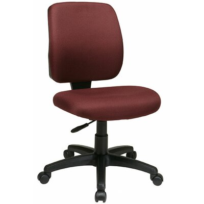 Office Star Products Work Smart Mid-Back Deluxe Task Chair