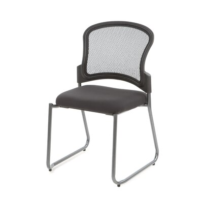 <strong>Office Star Products</strong> ProGrid Back Stacking Visitors Office Chair with Straight Legs