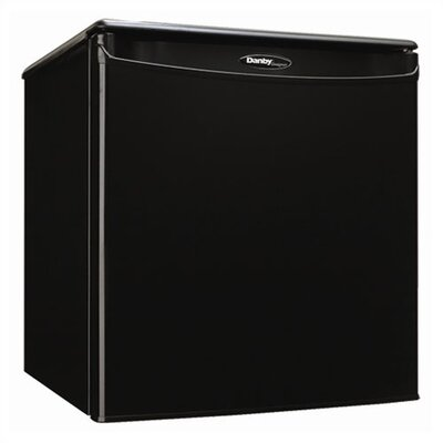 1.8 Cubic Ft. All Refrigerator in Black