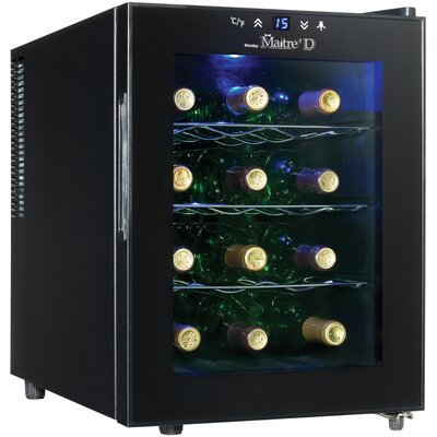 Danby Countertop Wine Cooler in Midnight Black