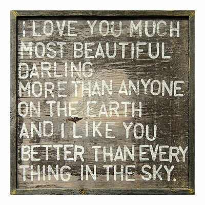 Sugarboo Designs I Love You Much Framed Painting Print